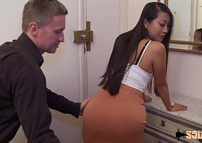 Japa popozuda gostosa liberando tudo em troca de um emprego melhor